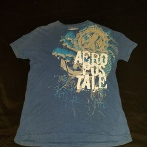Blue aeropostle tshirt
